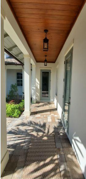 West Indies Courtyard 267