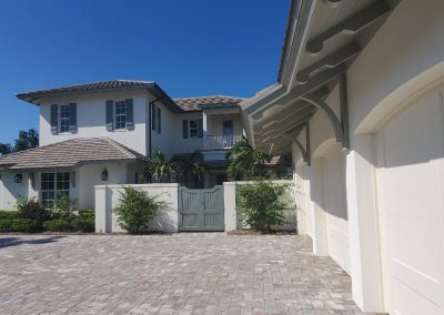 West Indies Courtyard 254